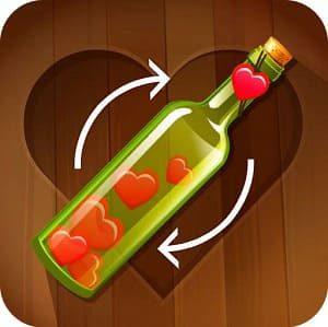 Закрути Любовь, бутылочка логотип