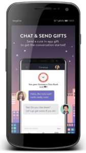 chat & send gift